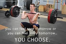feel sore