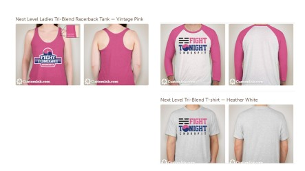 Bright Pink Fundraiser Shirts